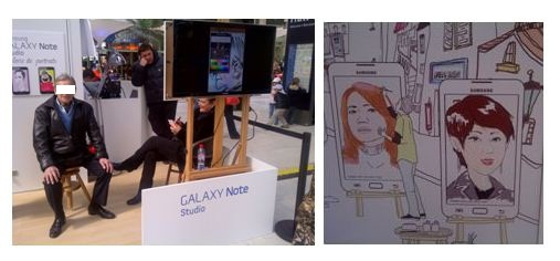 samsung galaxy note demo