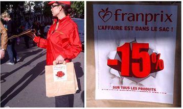 franprix sac promo