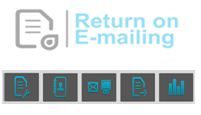 return on e-mailing