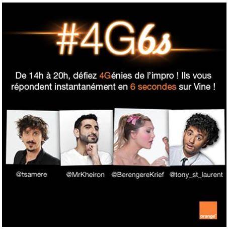 4G orange impro