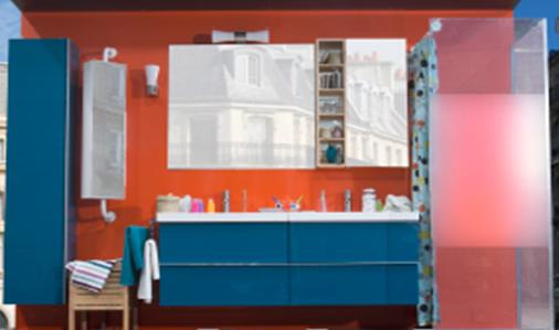 Ikea des acteurs prennent un bain de foule marketing performer - Ikea salle de bain accessoires ...